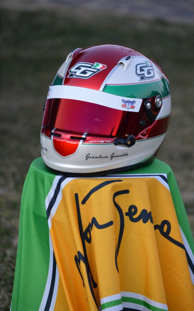 Casco GG by Sid special paint / Caldato design